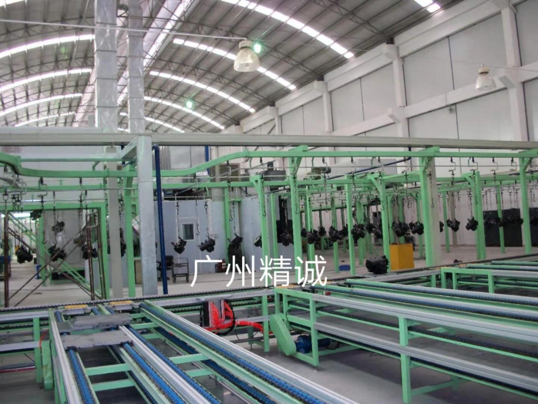 悬挂喷漆生产线