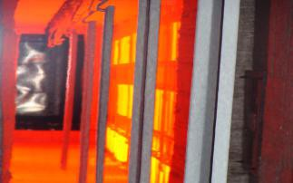 电烧结炉炉内结构